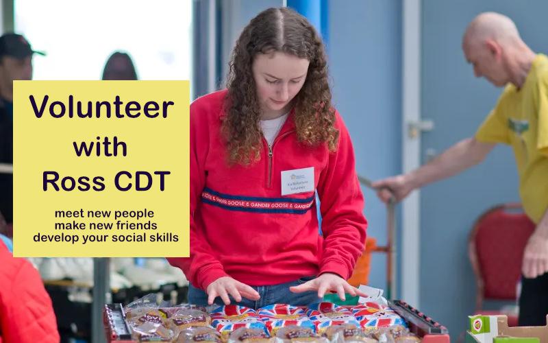 Volunteer with Ross CDT