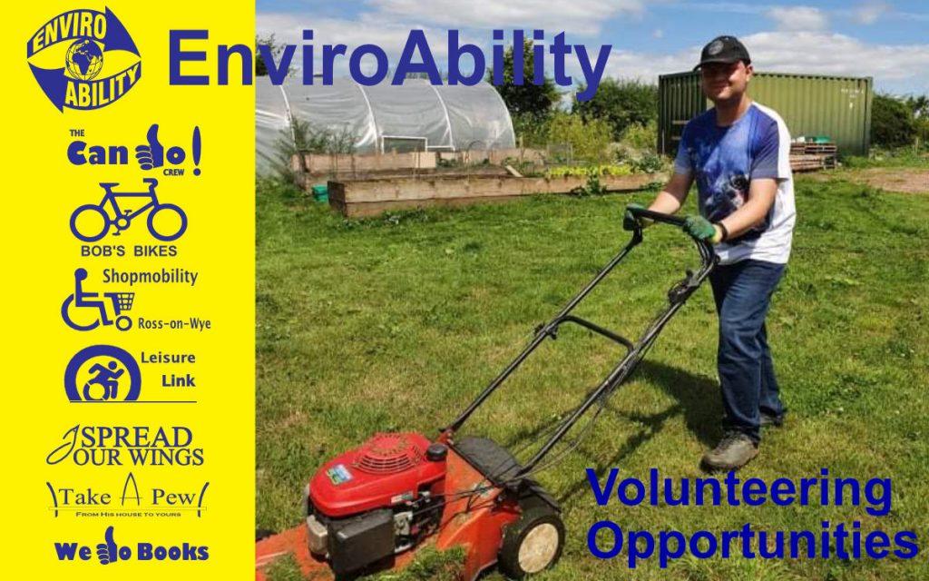 Volunteering Opportunities with EnviroAbility